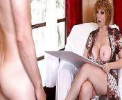 MILF - Nympho Milf Sara Jay Fucks A Young Nude Model from vimaladevi nude