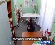 FakeHospital Both doctor and nurse give new patient thorough from မျိုးစန္ဒီကျော်အောကား doctor and chaitali video cosaniya nehwal xxx