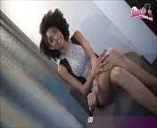 Model Agent - Cute petite ebony teen Take a big big cock from ebony pyt
