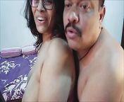 Mallu Couple sex on webcam from mallu couple chumma chaati and fucking till husband