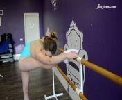 Nude euro teenie Julia Fiatal makes an erotic legs spreading show from small girl nude photo