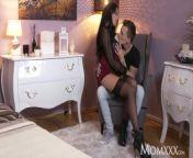 MOM Kinky big tits Latina MILF in stockings suspenders and high heels from memek michella putri bugil