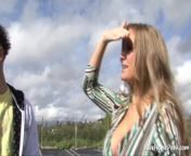 Big tits blonde is riding and moaning passionately from rode pe sax