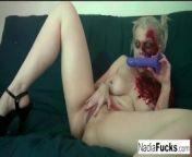 Zombie Nadia White Masturbates from sezi zomby