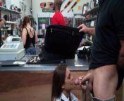 XXX PAWN - Latina Airline Stewardess Desperate For Money Will Do Anything from xxxjan
