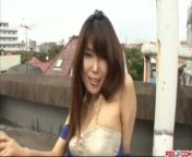 Yuuno Hoshi fucked by two hunks in crazy ways - More at Pissjp com from way com